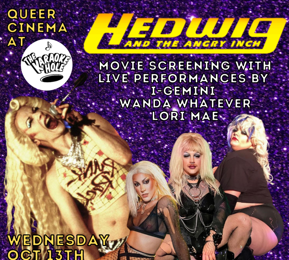 Queer Cinema: Screening Party of Hedwig and the Angry Inch